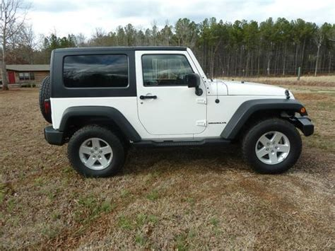 Used Jeep Top Purchase Used 2009 Jeep Wrangler 2 Door Top T Top In
