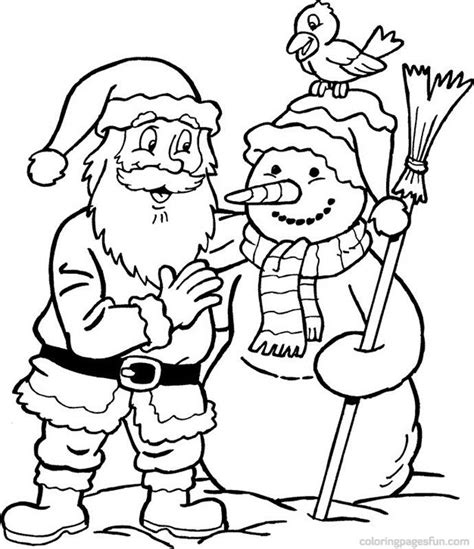 printable christmas coloring pages pinterest christmas santa claus coloring pages 39 free printable