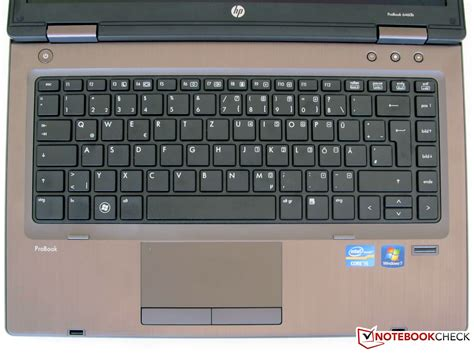 Keyboard Laptop Hp Probook Review Hp Probook 6460b Lg645ea Notebook Notebookcheck