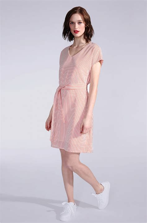 8 Sweet Summer Dresses For Day Or by Classic Summer Dress With Sleeves And Stripes Kala