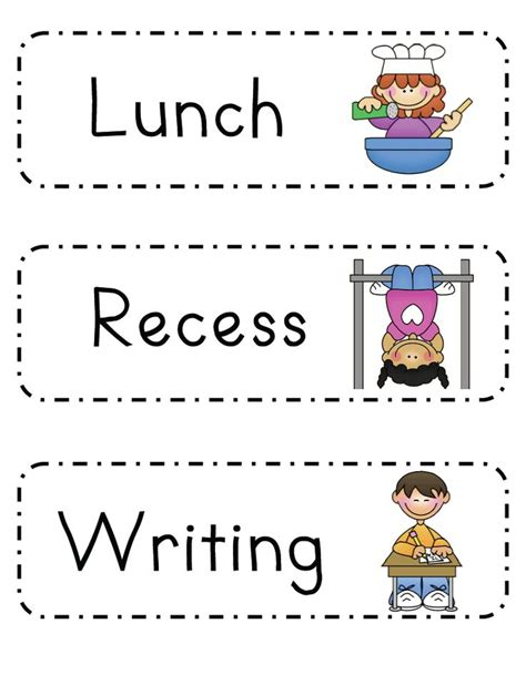 kindergarten timetable template 17 best ideas about kindergarten daily schedules on