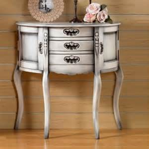 shabby chic console table 3 drawers 2 doors indonesia furniture living room furniture