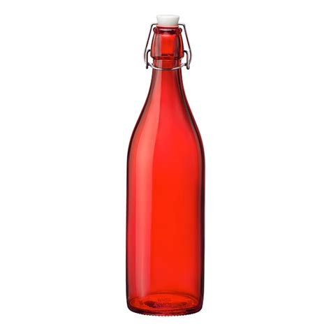 red bottle giara water bottle the container store