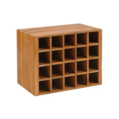 cottage oak wine rack insert for console table j274 with