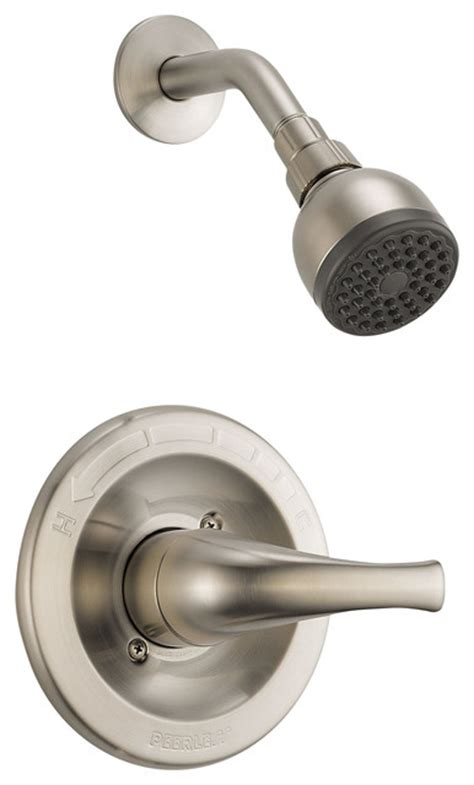 bathtub shower faucet sets delta shower trim ptt188763 bn tub and shower faucet