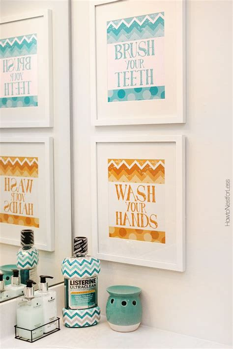 chevron bathroom ideas 305 best images about free printables on pinterest