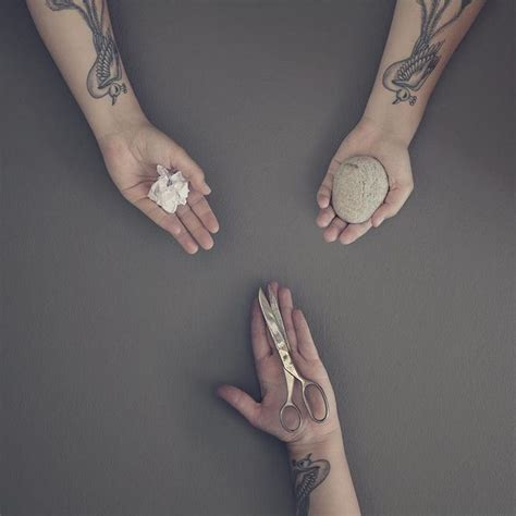 tattoo paper rock rock paper scissors tattoo pictures to pin on pinterest