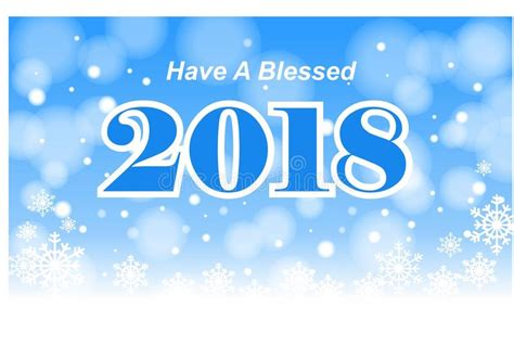 a blessed 2018 stock illustration illustration of frosty 93667806