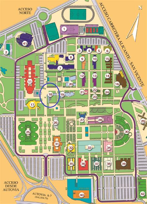 mapa de la casa de co mapa de san vicente raspeig