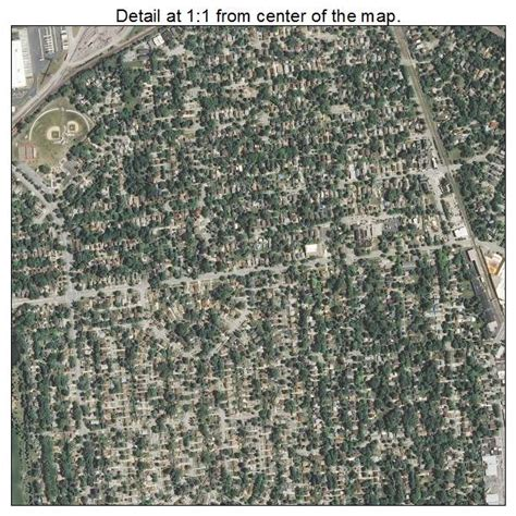 des plaines il aerial photography map of des plaines il illinois