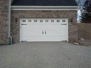 savoy home garage door decorative hardware dilemma
