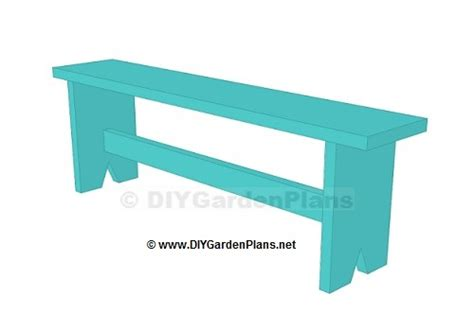 easy bench designs easy plans for a board garden bench