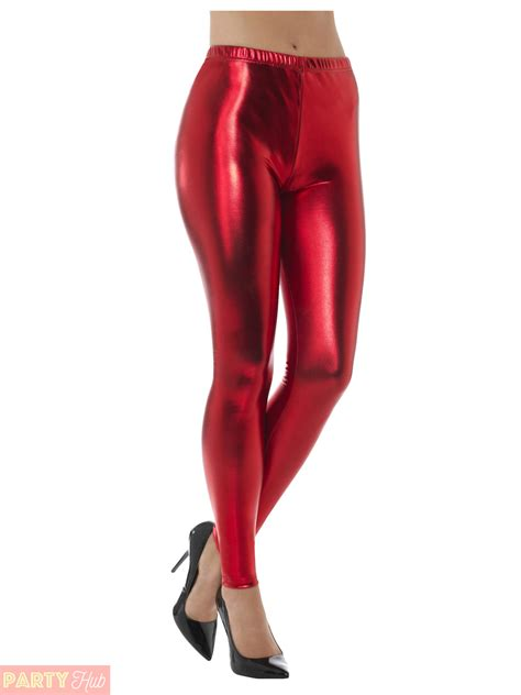 sexy leggings onlyleggingscom ladies 80s metallic leggings adult disco fancy dress