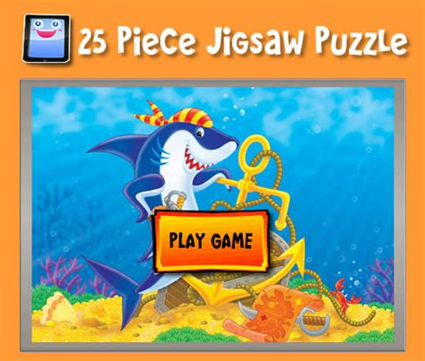 printable jigsaw puzzles free online cartoon shark jigsaw puzzles for ipad and other tablets