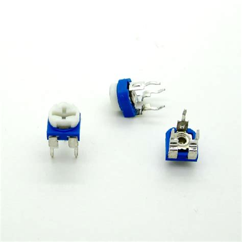 10k variable resistor 103 b0075 free shipping 50pcs rm065 rm 065 10k ohm 103 trimpot trimmer potentiometer variable