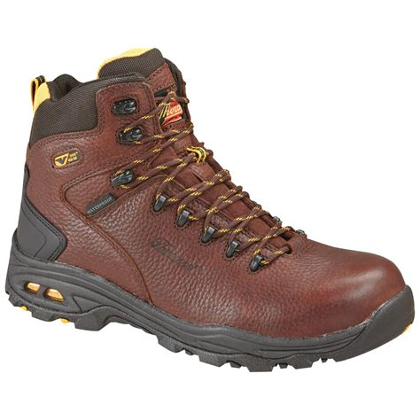 composite toe hiking boots s thorogood 174 6 quot vgs waterproof composite toe hikers