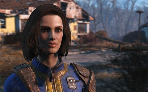 fallout 4 character mods female beautiful babette sexy gorgeous female save fallout 4