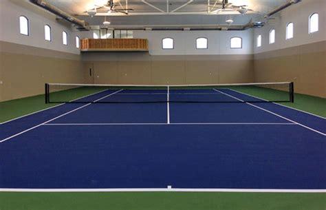 connecticut tennis basketball court construction
