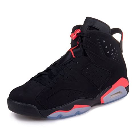 retro 6 basketball shoes nike mens air 6 retro quot infrared quot black infrared 23