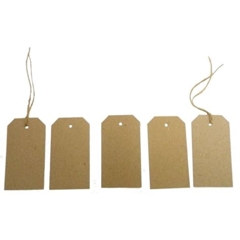 swing tag recycled swing tags eco brown 230gsm duplex swing tags