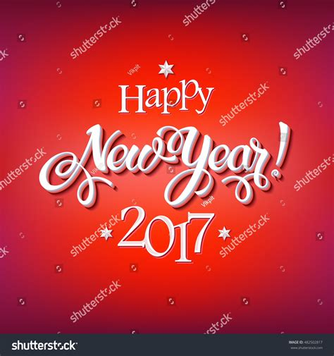new year signs happy new year 2017 signs on reg background calligraphy