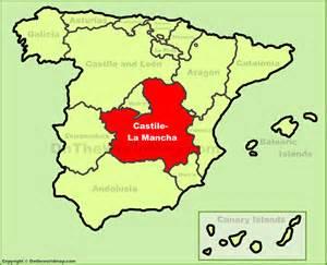 La Mancha Image Gallery La Mancha Spain Map