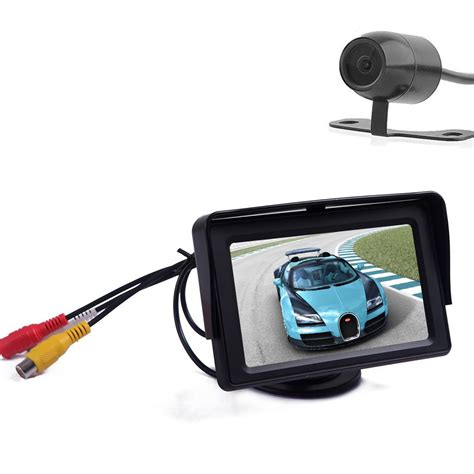 Monitor Lcd Vision 15 eincar eincar car lcd monitor 4 3 inch hd tft led touch screen monitors with lcd