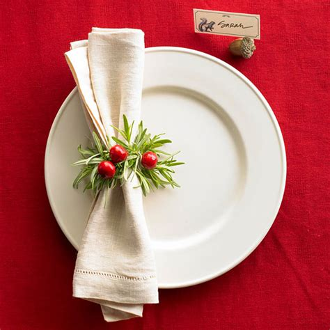 easy place setting ideas