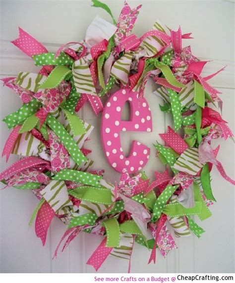 ribbon craft projects 17 best images about crafts on wreath