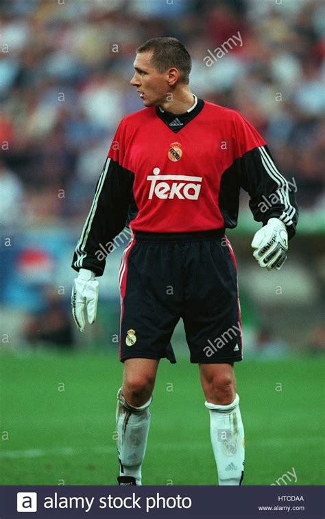 Real Madrid 01 bodo illgner real madrid 01 august 1999 stock photo