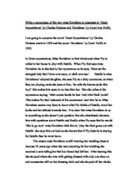 Havisham Poem Essay by Comparison Of Miss Havisham And Macbeth Sludgeport240 Web Fc2