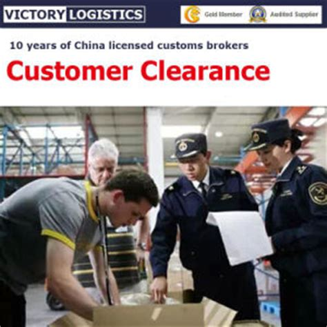 sea freight air freight custom clearance from china custom broker china customs