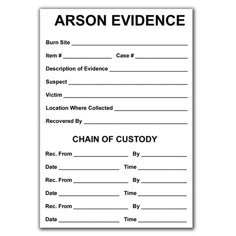 printable evidence labels image gallery evidence labels