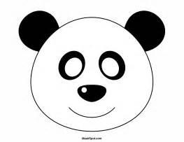 panda print outs free printables at museprintables