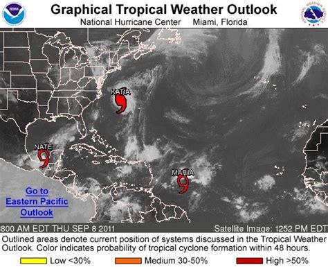 imagenes satelitales oceano atlantico tres ciclones alertan al caribe y atl 225 ntico quot katia