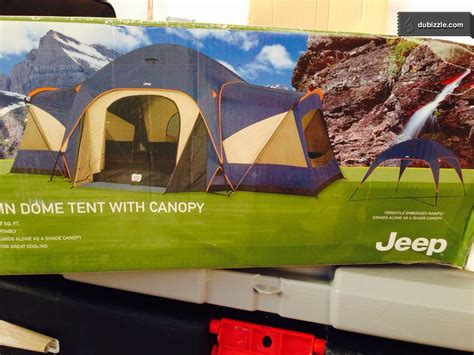 jeep 3 room cabin dome tent