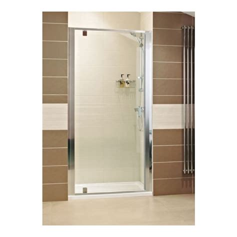 Shower Door 900mm Lumin8 900mm Pivot Shower Door