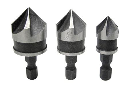 Counter Sink Drill Bits by 3pc Countersink Bit Counter Sink Drilling Timber Wood