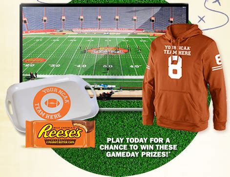 Instant Win Sweepstakes And Giveaways - reese s prizes sweepstakes and instant win game