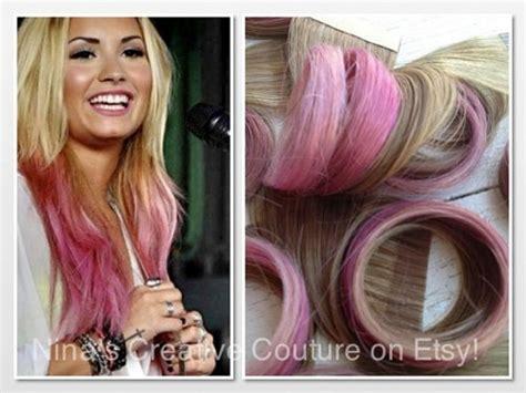 pale pink hair extensions hair extensions tie dye hair extensions dip dye
