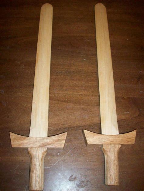 making wooden sword putting