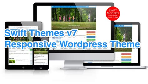 wordpress theme editor linux responsive swift theme v7 quick review and 25 coupon code