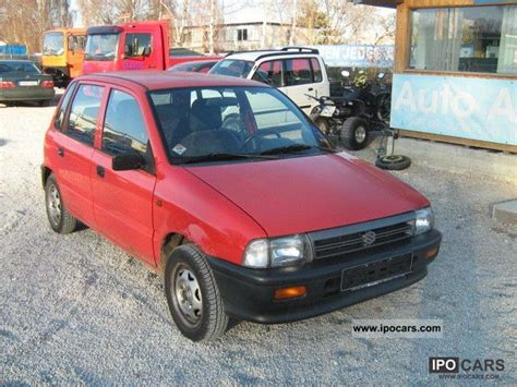 Suzuki Alto 1998 1998 Suzuki Alto 1 0 Gl Car Photo And Specs