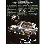 1981 Ford Granada Ad  CLASSIC CARS TODAY ONLINE