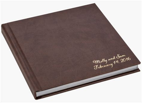 Wedding Albums Leather by Leather Photo Albums Altar Albums