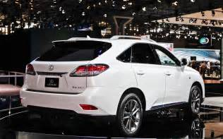 2012 new york lexus builds 2013 rx 350 f sport with eight