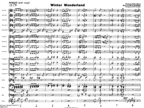 winter wonderland swing winter wonderland arr jerry nowak j w pepper sheet music