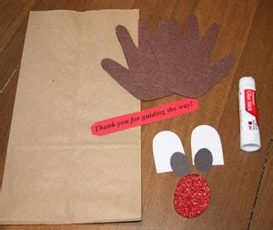 Paper Bag Reindeer Craft - reindeer rudolph craft quotes quotesgram