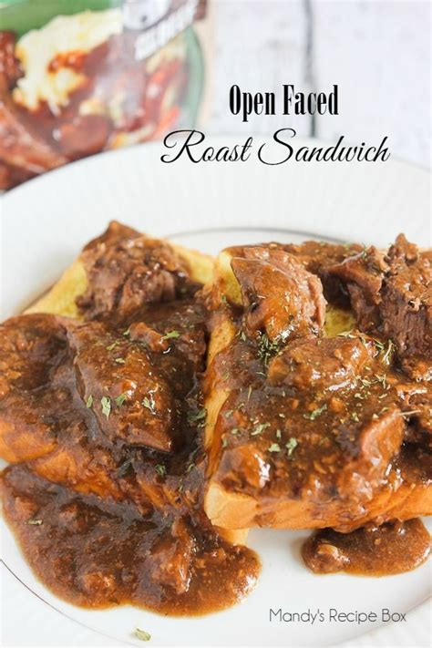 Fast Easy Dinner Open Roast Beef Sandwich by 2594 Best Images About Dish Recipes On