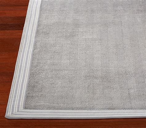 Chenille Jute Solid Border Rug Gray Pottery Barn Kids Pottery Barn Chenille Rug